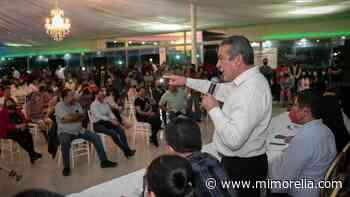 Uruapan consolida su respaldo a Raúl Morón Orozco - MiMorelia.com