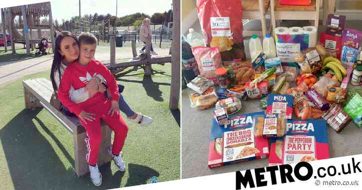 Mum reveals how she feeds her family of three for less than £5 a day