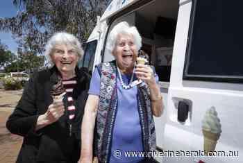 Echuca aged care residents all scream for ice-cream - Riverine Herald