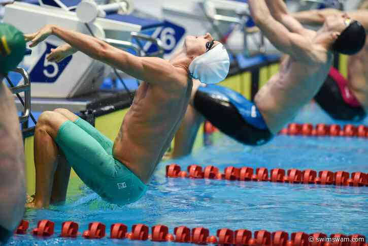 Luke Greenbank Lowers British 200 Back Record For Third Time In Budapest