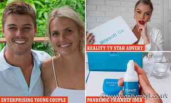 Glamorous young couple made nearly $2million in six months during the pandemic starting with $1,500