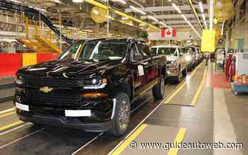 GM prépare la relance son usine d'Oshawa
