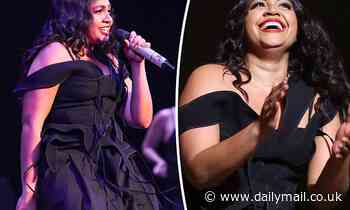 Jessica Mauboy performs at COVID-safe Great Southern Nights event in Sydney
