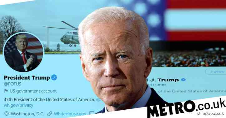 Twitter will hand over @POTUS account to Joe Biden on Inauguration Day