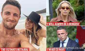 Phoebe Burgess will keep using ex-husband Sam Burgess's famous surname despite accusing him of abuse