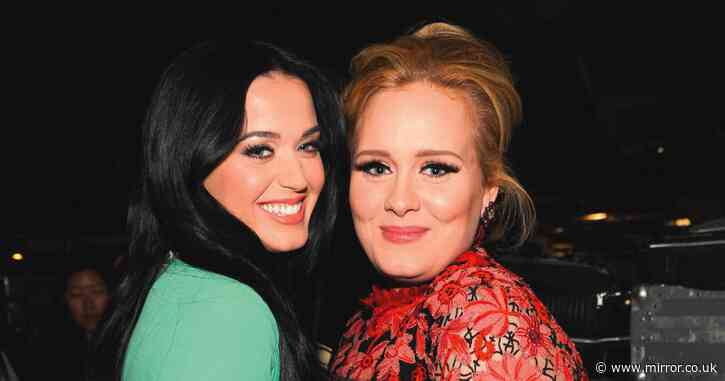 Katy Perry mistaken for slimmed down Adele as she unveils new blonde look - Mirror Online