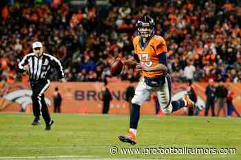 11/21: ProFootballRumors.com- Saints Sign QB Trevor Siemian