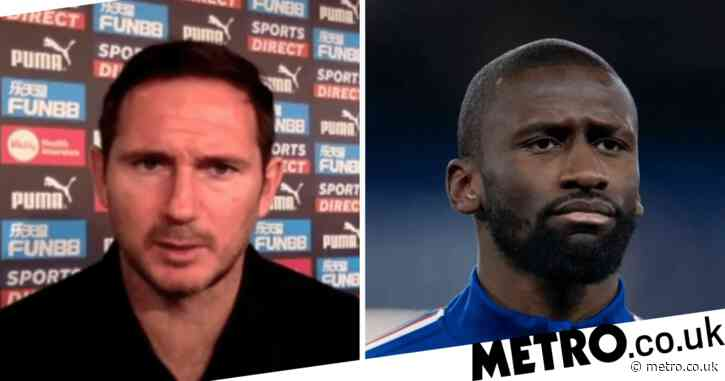 Frank Lampard insists he has 'confidence' in Chelsea defender Antonio Rudiger after Newcastle win