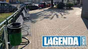 Alpignano: nuove panchine e cestini porta rifiuti nella via Mazzini - http://www.lagendanews.com