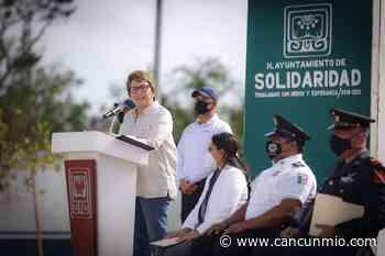 Encabeza @LauraBeristain el 110 Aniversario de la Revolución Mexicana en Solidaridad - Cancún Mio
