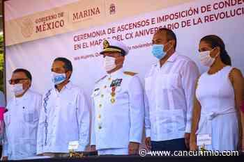 Conmemoran 110 aniversario de la Revolución Mexicana en Isla Mujeres - Cancún Mio