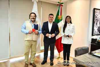 Se reúne Candy Ayuso con Alito Moreno en México - Cancún Mio