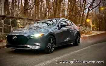 Mazda3 Turbo 2021 : montée en grade