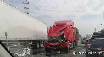 La Libertad: reportan accidente de tránsito en Chepén LRND - LaRepública.pe