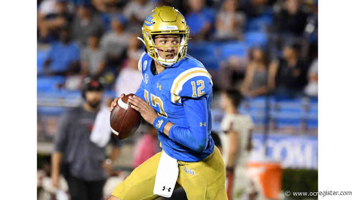 UCLA QB Dorian Thompson-Robinson will miss today's game against No. 11 ranked Oregon