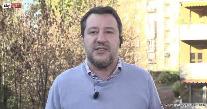 """Salvini a L'Ospite (Sky Tg24): """"Il convegno al Senato con gli scettici del Covid? È stato un errore andarci, ma non chiamiamoli negazionisti"""""""