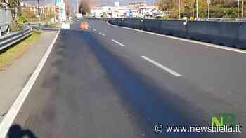 Strada Trossi chiusa al traffico in uscita da Biella - newsbiella.it