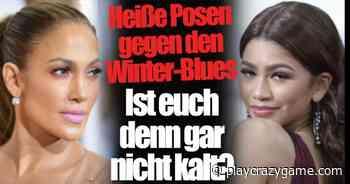 Jennifer Lopez, Bar Refaeli, Zendaya: Daring presents in November! You do not chilly? - Play Crazy Game