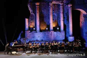 Domenica in streaming l'Orchestra di Taormina in concerto dal Teatro Antico - Messina Sportiva