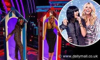 Strictly's Tess Daly and Claudia Winkleman prepare for Elstree-based 'Blackpool' special