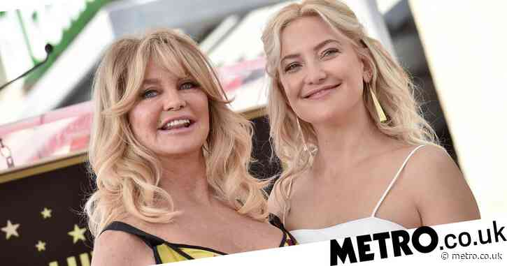 Kate Hudson shares epic throwback photo as she wishes mother Goldie Hawn a happy 75th birthday