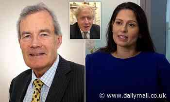 How Sir Alex Allan stormed off because Boris refused to sack Priti Patel over 'bullying' claims