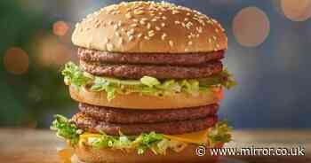 McDonald's fans left fuming over 'embarrassing' new burger on Christmas menu