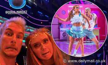 Strictly's Maisie Smith is feeling 'nervous' ahead of Saturday's show