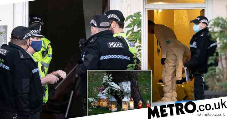 Toddler dies after incident in apartment block as man, 40, is arrested