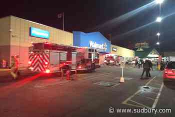 Arson suspected in North Bay Walmart fire