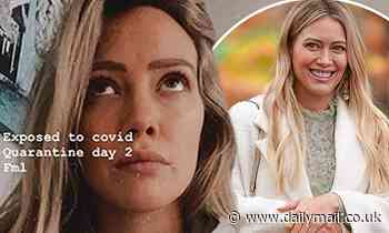 Hilary Duff is on 'quarantine day 2' after being exposed to COVID-19
