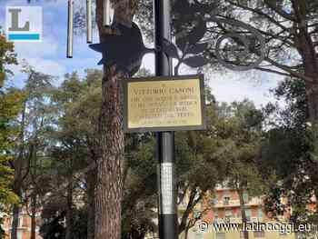 Una targa per ricordare Vittorio Casoni: per decenni curò gli alberi del parco - latinaoggi.eu