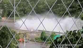 Las lluvias inundaron puente de Bochalema - Caracol Radio