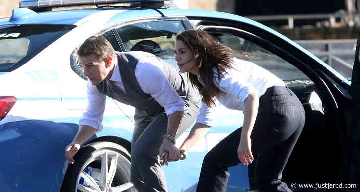Tom Cruise Gets Handcuffed to Hayley Atwell for 'Mission: Impossible 7' Scene in Rome