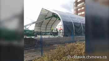 40-bed temporary unit takes shape at Ottawa Hospital Civic Campus - CTV Edmonton