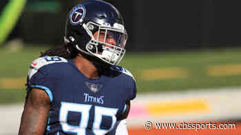 Titans place Jadeveon Clowney on injured reserve with a knee injury, will miss at least the next three games
