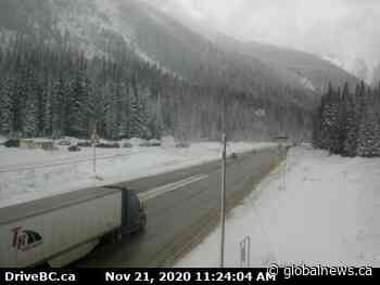 Avalanche control causes sporadic highway closures on Rogers Pass