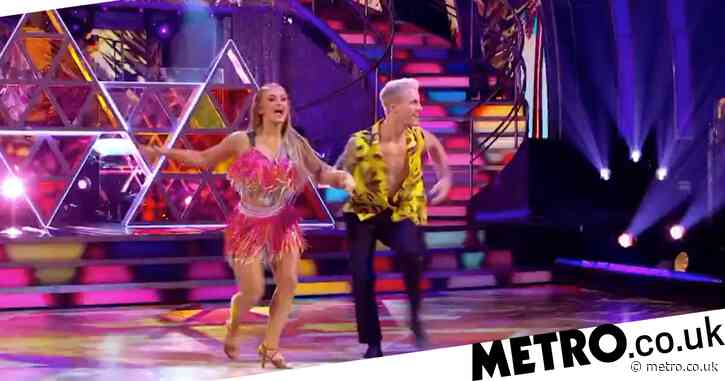 Strictly Come Dancing 2020: Maisie Smith comes back from last week's dance-off with triumphant salsa routine