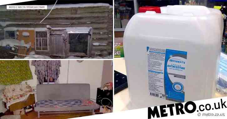 Seven die in Russia after drinking hand sanitiser when alcohol ran out