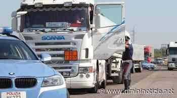 Polizia Stradale di Riccione. Beccati tre autotrasportatori con cronotachigrafo alterato - rimininotizie.net