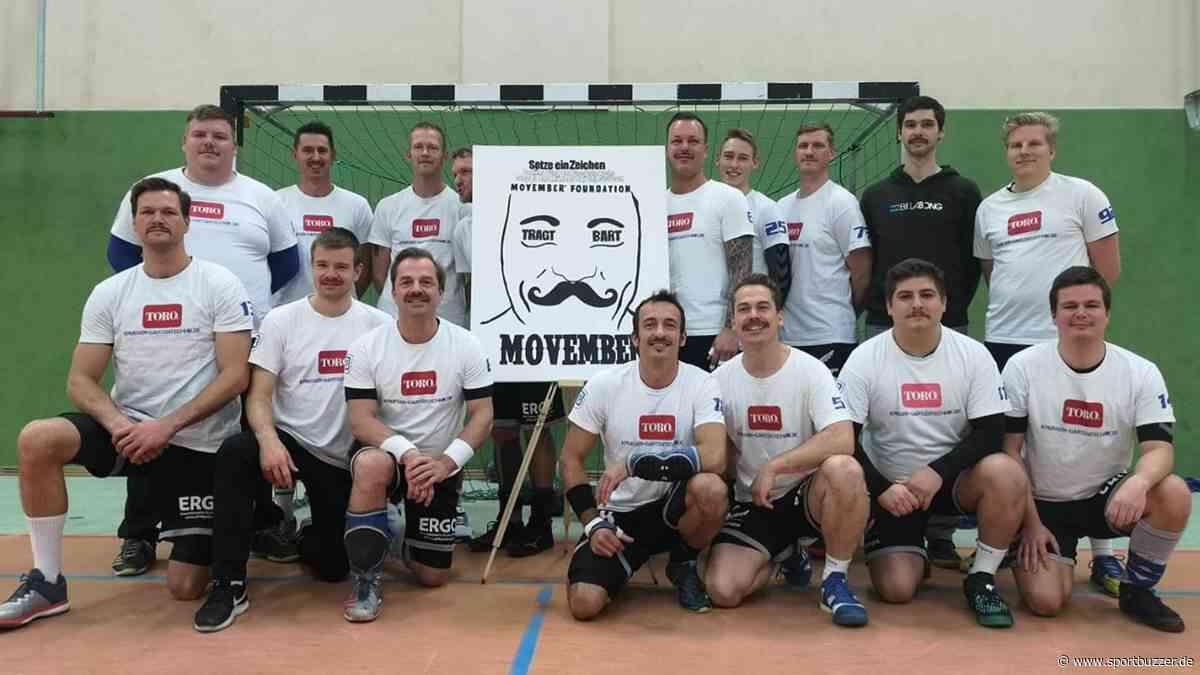 SV Blau-Weiß Dahlewitz: Movember-Aktion mit Bart und Botschaft - Sportbuzzer