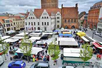 Händler Wochenmarkt in Stendal findet wieder statt - Volksstimme