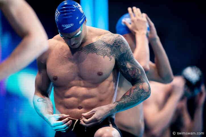 Caeleb Dressel Ne Toda 50 Freestyle Ka World Record