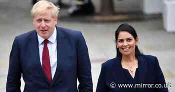 Boris Johnson 'creates culture of fear' after letting Priti Patel off the hook