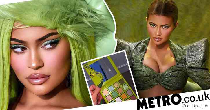 Kylie Jenner fans crushed after her Kylie x Grinch make-up collection sells out
