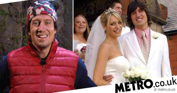 I'm A Celebrity's Vernon Kay has Giovanna Fletcher swooning as he recalls renewing his vows with Tess Daly