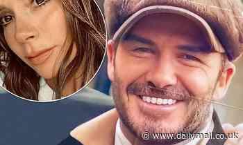 Victoria Beckham mocks David's VERY white teeth on an advent calendar