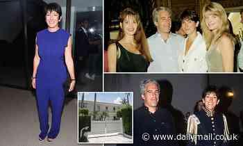 Ghislaine Maxwell kept an 'album full oh photographs of topless girls,' claims Epstein's butler