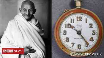 Gandhi's broken pocket watch sells for £12k at auction