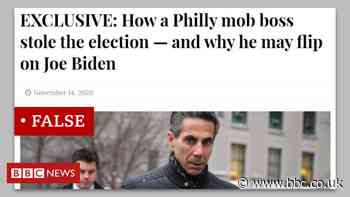 The local news site behind fake Biden 'mafia plot'
